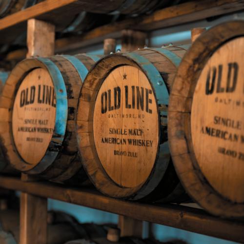 Old line barrels.