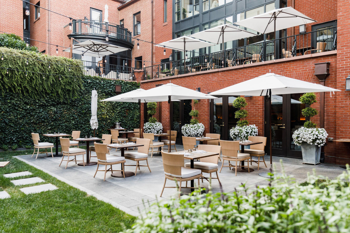 The Ivy Courtyard