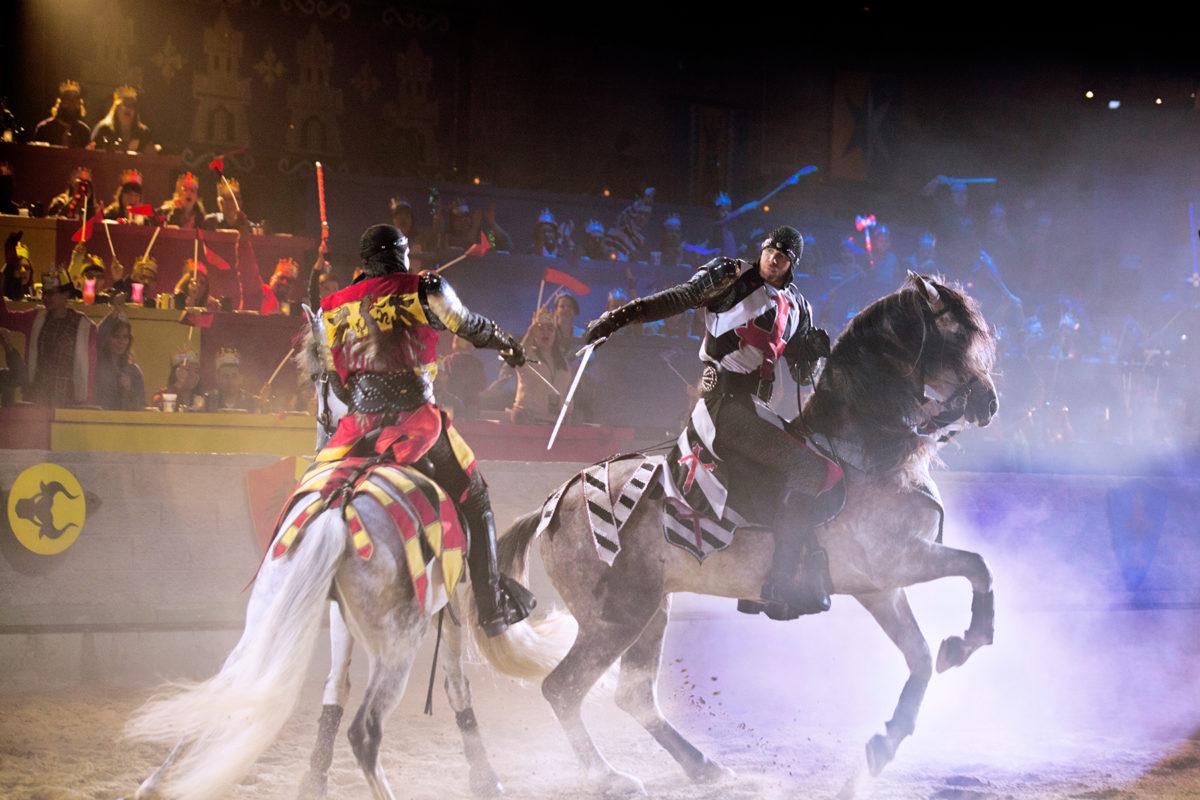 Horseback Sword Fight