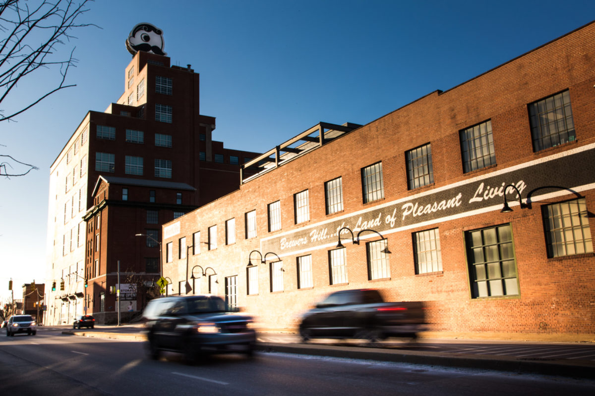 Brewers Hill building